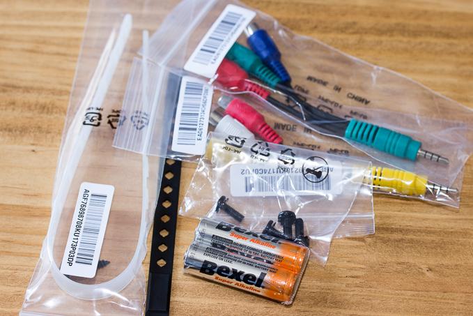 その他OLED55C7Pの付属品
