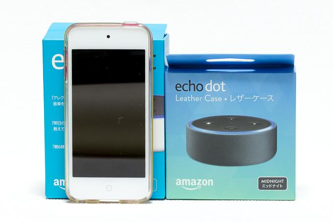 Echo Dotのサイズ感や質感