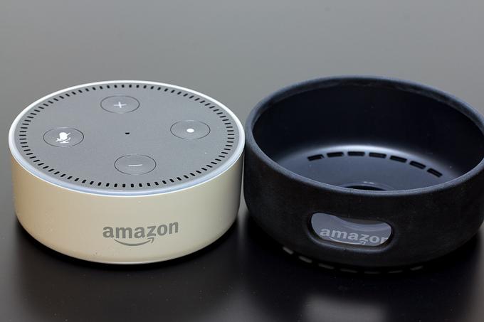 招待メールが届いたのでAmazon Echo DotとEcho Dot用レザーケースを買ってみた