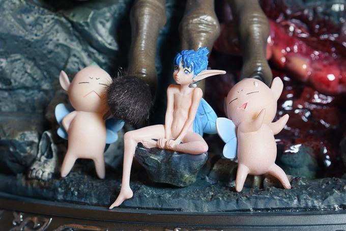 プライム1スタジオのベルセルク「ガッツ」フィギュアの3種類の妖精パック