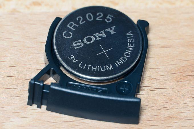 RMT-DSLR2のボタン電池