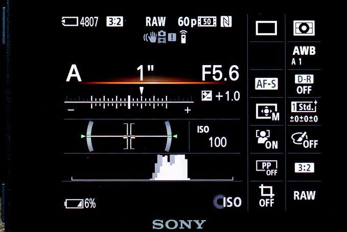 RMT-DSLR2のディスプレイ表示切り替えボタン