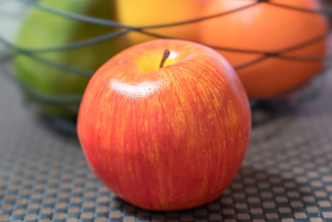 ニトリの「フルーツセット」りんごのクオリティ