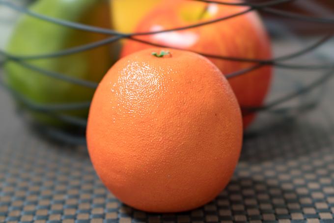 ニトリの「フルーツセット」オレンジのクオリティ