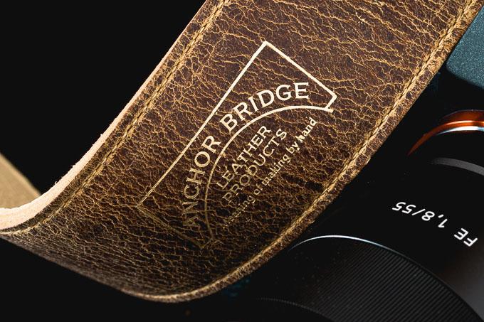 ANCHOR BRIDGE(アンカーブリッジ)ROBERU(ロベル)KUDUレザーカメラストラップ