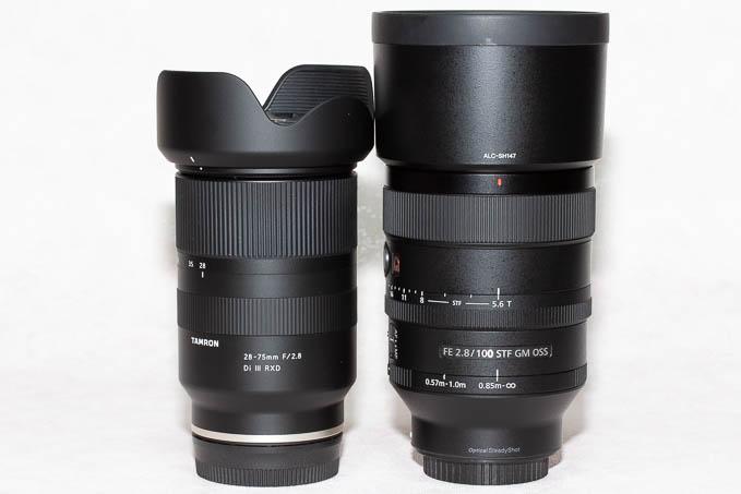 28-75mm F/2.8 Di III RXDの外観とサイズ感