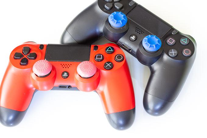 PS4用AIM SNIPERとHIGH GRIP比較