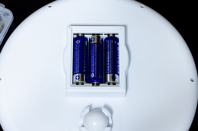 単三電池3本使用