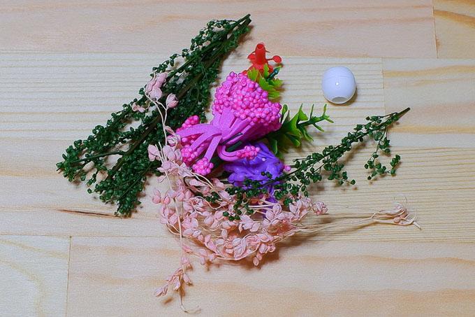 「子猫物語」の造花類