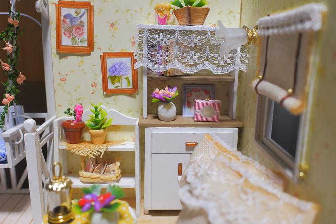 ドールハウス「子猫物語」の完成写真3