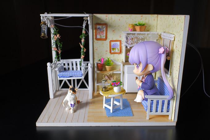 ドールハウス「子猫物語」をねんどろいどを設置