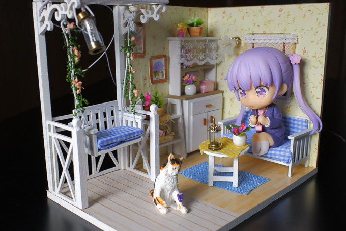 ドールハウス「子猫物語」をねんどろいどを設置2