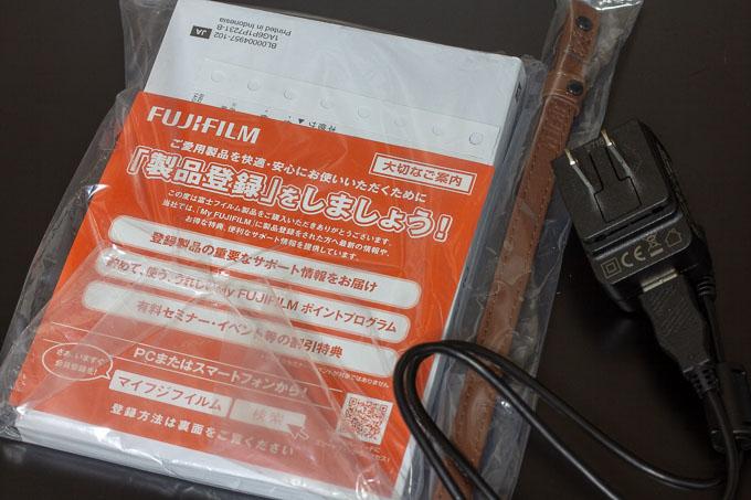 富士フイルムXF10の付属品