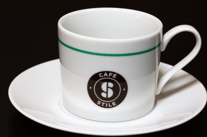 スティーレロゴ入りマグカップ&ソーサー