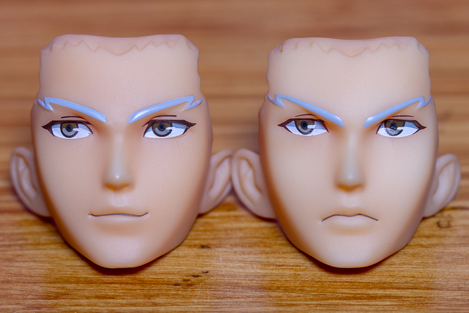 アクアマリン アーチャー2種類の顔