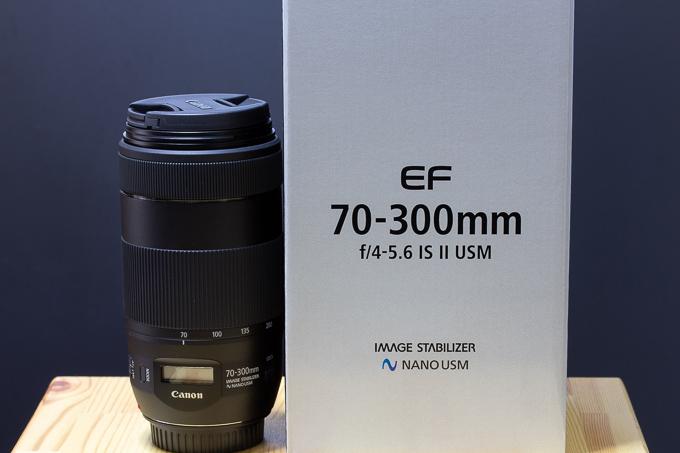 EF70-300mm F4-5.6 IS II USM