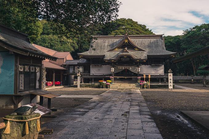 酒列磯前神社の本殿