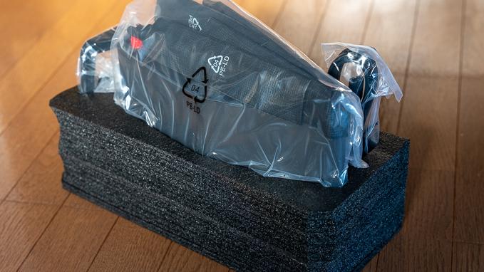 「WXR-5950AX12」の梱包