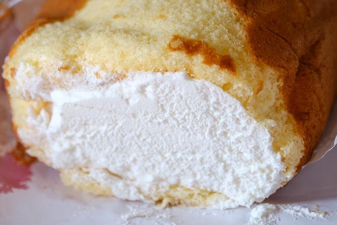 日立市「かずみ」のロールケーキ