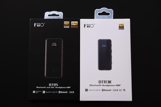 FiiOのBTR3KとBTR5