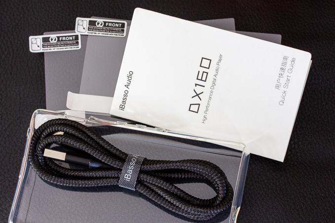 DX160 ver.2020の付属品類