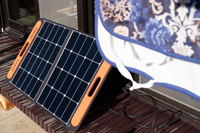 ポータブル電源は直射日光NG
