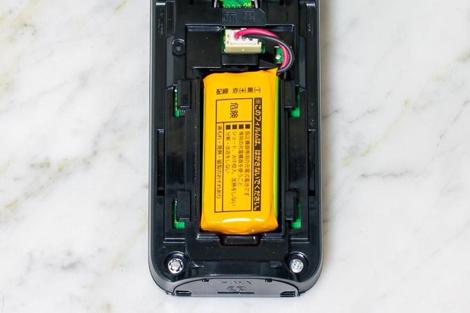 VE-GDL45DLのバッテリー