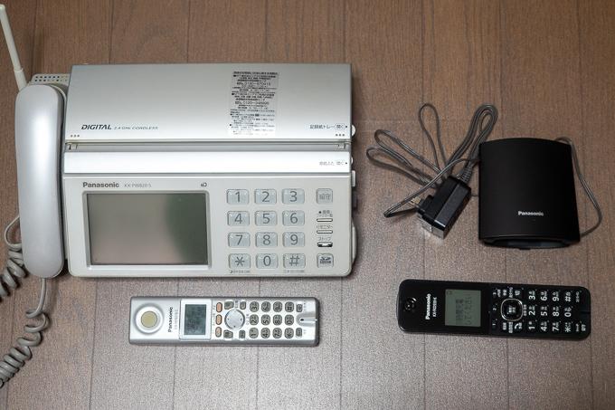 「VE-GDL45DL-K」と「KX-PW820」