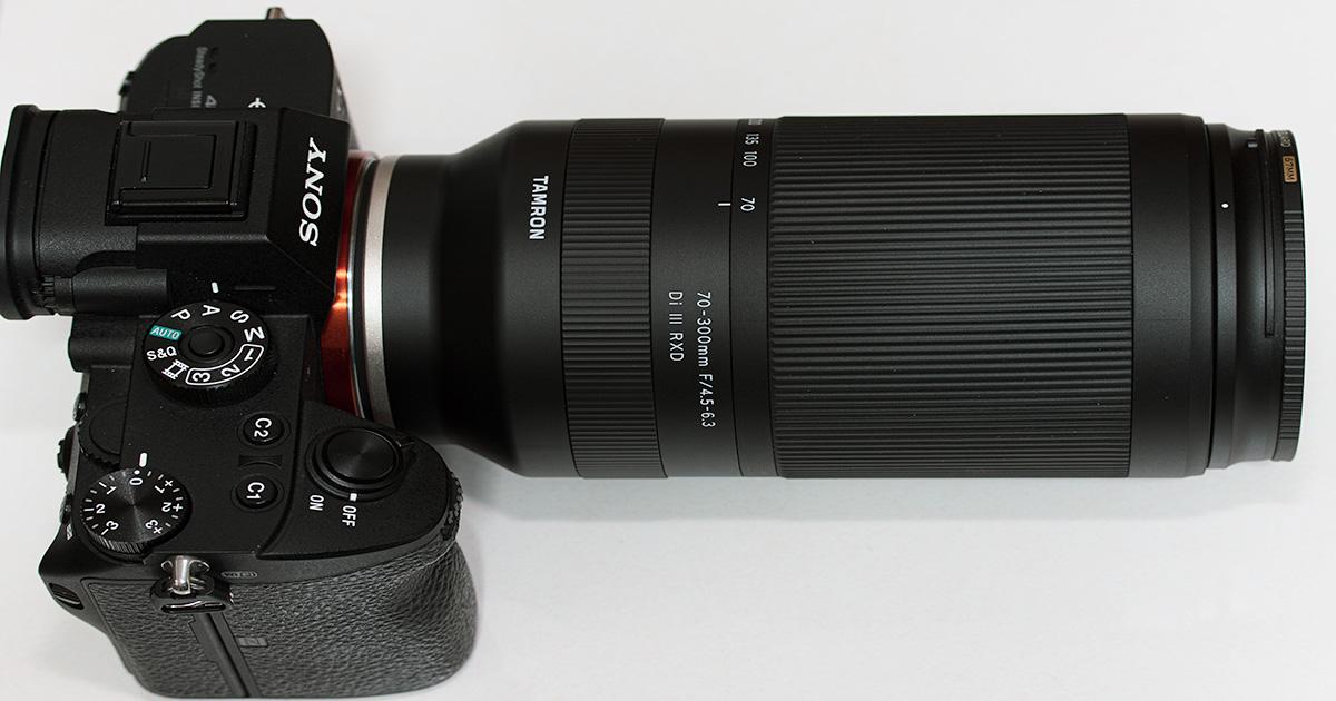 【作例あり】タムロン「70-300mm F/4.5-6.3 Di III RXD」の気に入った点&イマイチだった点