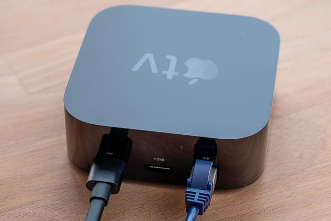 Apple TV 4KのギガビットEthernetポート