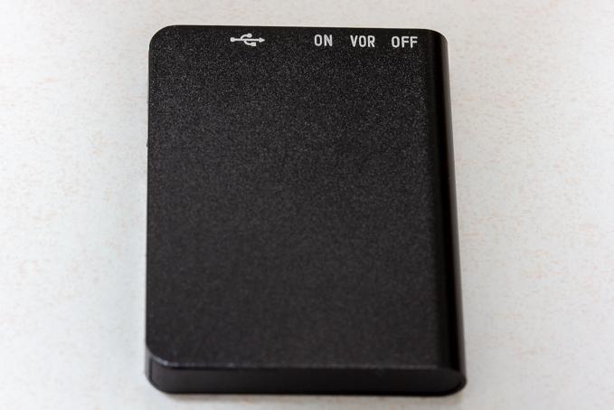 QZTのボイスレコーダーの外装